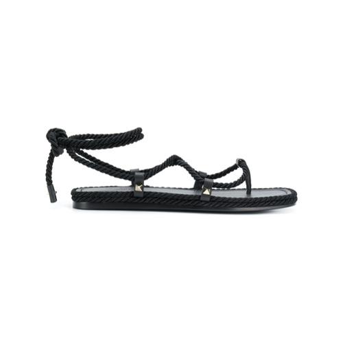 Imagen principal de producto de Valentino Valentino Garavani Torchon sandals - Negro - Valentino