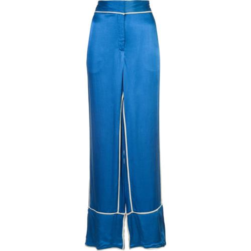 Imagen principal de producto de By Malene Birger pantalones Raniyah - Azul - By Malene Birger