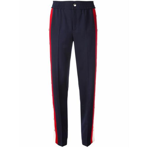 Imagen principal de producto de Gucci pantalones con botones de presión - Azul - Gucci
