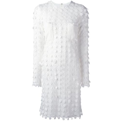 Imagen principal de producto de Carven vestido bordado - Blanco - Carven