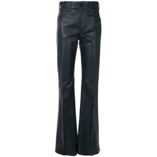 Imagen principal de producto de Prada pantalones biker acampanados - Azul - Prada