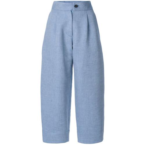 Imagen principal de producto de Carven pantalones con pinzas - Azul - Carven