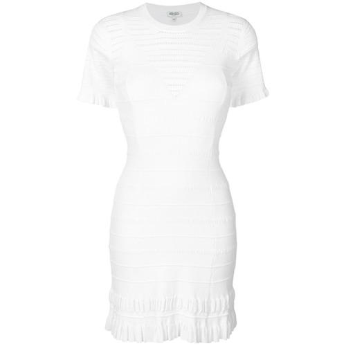 Imagen principal de producto de Kenzo vestido de punto - Blanco - Kenzo