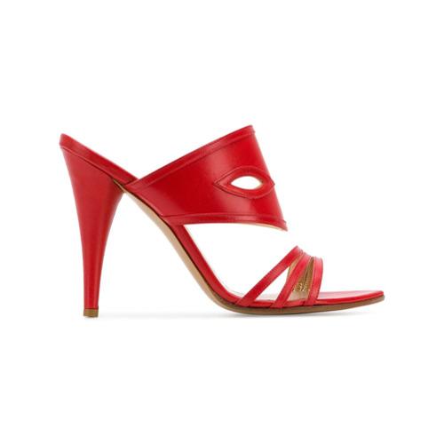 Imagen principal de producto de Vivienne Westwood sandalias con tiras cruzadas - Rojo - Vivienne Westwood