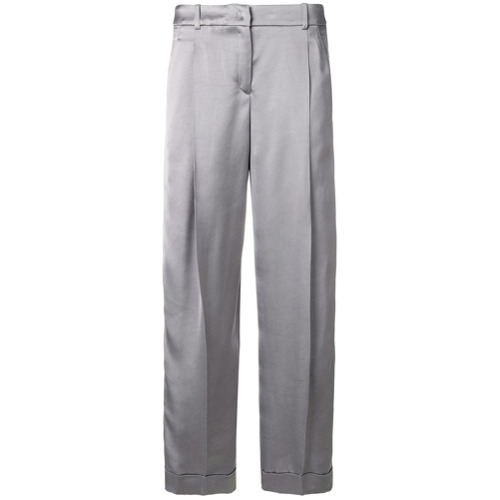 Imagen principal de producto de Jil Sander Navy pantalones capri - Gris - Jil Sander Navy
