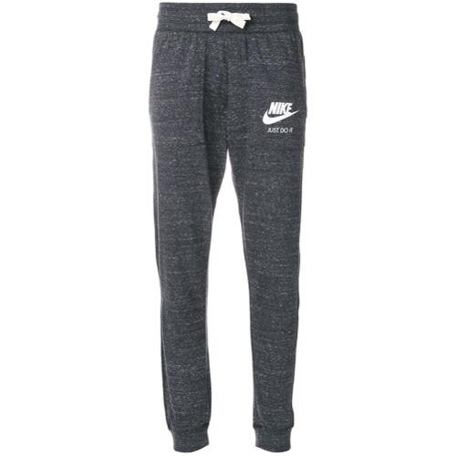 Imagen principal de producto de Nike pantalones de chándal con estampado del logo - Gris - Nike