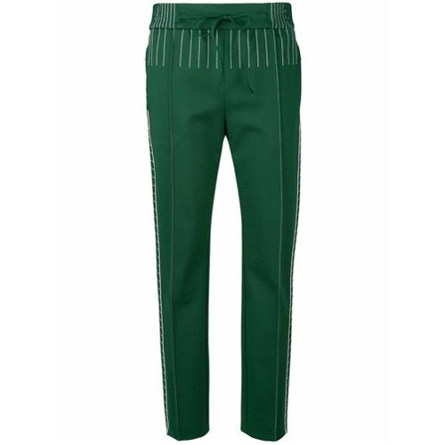 Imagen principal de producto de Valentino pantalones Techno - Verde - Valentino