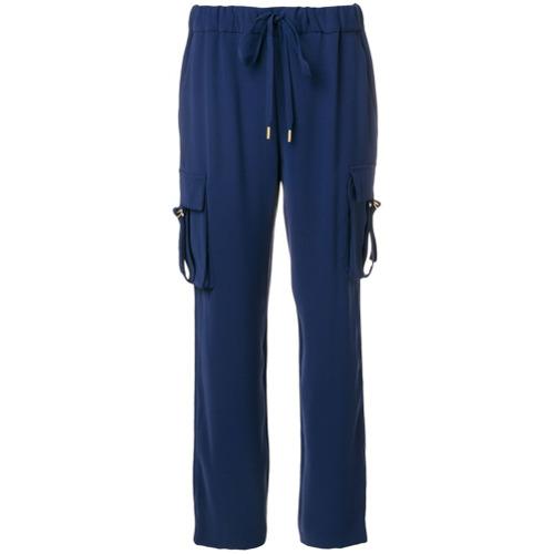 Imagen principal de producto de Michael Michael Kors pantalones con cordones - Azul - MICHAEL Michael Kors