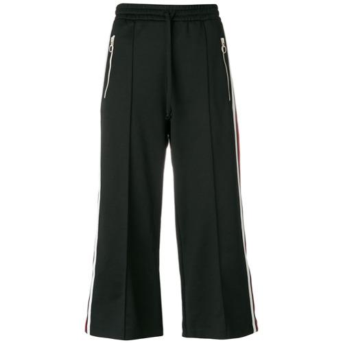 Imagen principal de producto de Gucci pantalones de chándal capri - Negro - Gucci