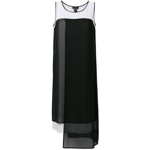 Imagen principal de producto de DKNY vestido sin mangas asimétrico - Negro - DKNY