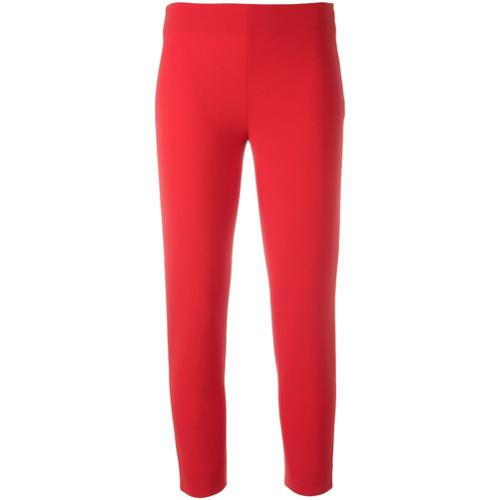 Imagen principal de producto de Moschino pantalones capri - Rojo - Moschino