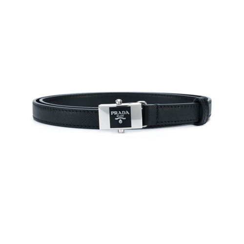 Imagen principal de producto de Prada cinturón con hebilla - Negro - Prada