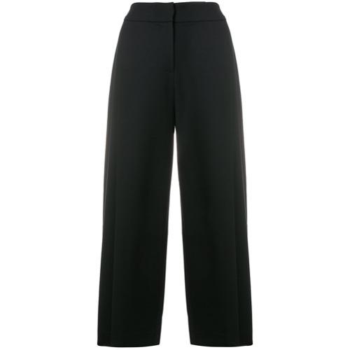 Imagen principal de producto de Emporio Armani culottes de talle alto capri - Azul - Emporio Armani