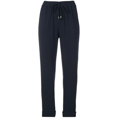 Imagen principal de producto de Emporio Armani pantalones jogger capri - Azul - Emporio Armani