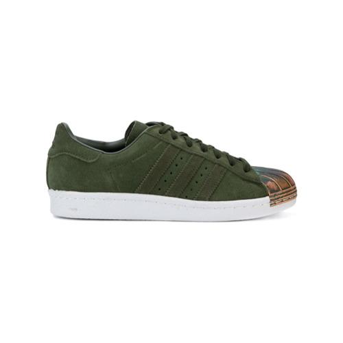 Imagen principal de producto de Adidas zapatillas con puntera de metal Adidas Originals Superstar 80s - Verde - Adidas