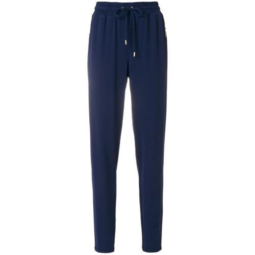 Imagen principal de producto de Michael Michael Kors pantalones jogger con corte tapered - Azul - MICHAEL Michael Kors