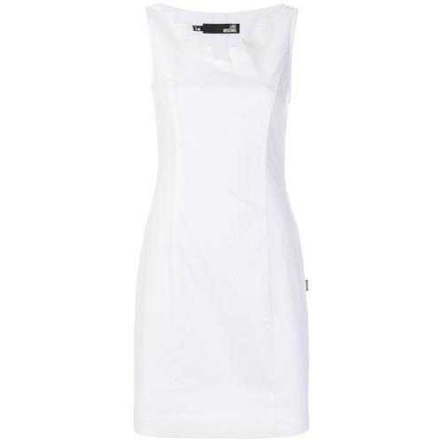 Imagen principal de producto de Love Moschino vestido corto ceñido - Blanco - Moschino