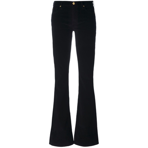 Imagen principal de producto de 7 For All Mankind pantalones acampanados - Negro - 7 for all mankind