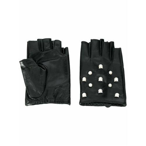 Imagen principal de producto de Karl Lagerfeld guantes Karl Cat Pearl - Negro - KARL LAGERFELD