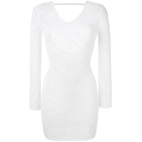 Imagen principal de producto de La Perla vestido bordado - Blanco - La Perla