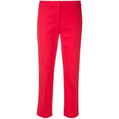 Imagen principal de producto de Michael Michael Kors pantalones capri entallados - Rojo - MICHAEL Michael Kors