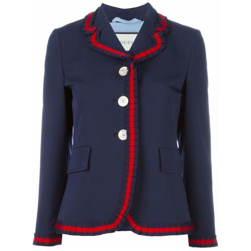 Imagen principal de producto de Gucci blazer de tres botones - Azul - Gucci