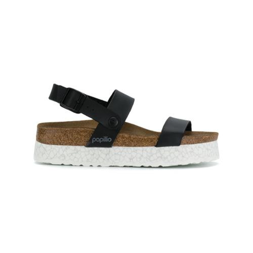 Imagen principal de producto de Birkenstock marbled sole sandals - Negro - Birkenstock