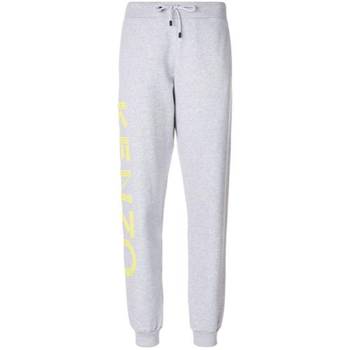 Imagen principal de producto de Kenzo pantalones de chándal con estampado del logo - Gris - Kenzo