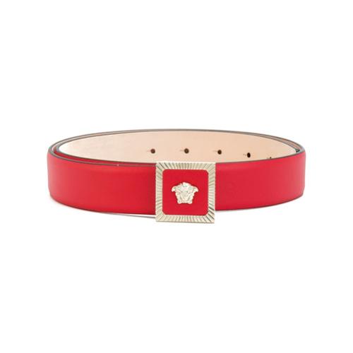 Imagen principal de producto de Versace cinturón con hebilla Medusa - Rojo - Versace