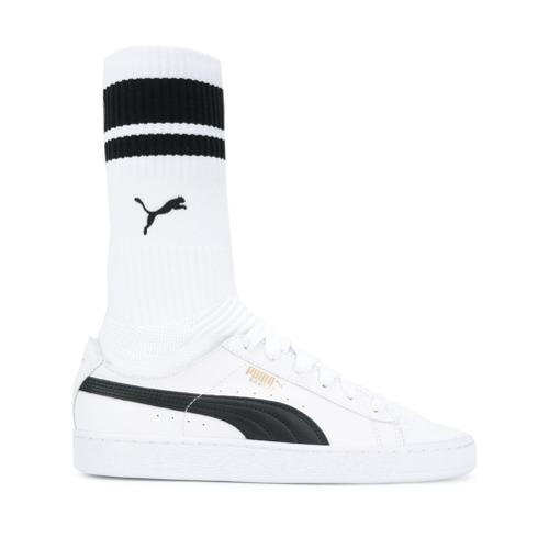 Imagen principal de producto de Puma zapatillas estilo calcetín - Blanco - Puma