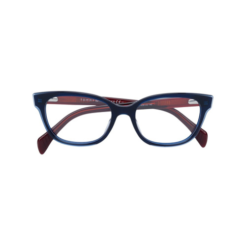Imagen principal de producto de Tommy Hilfiger gafas con montura cuadrada - Azul - Tommy Hilfiger