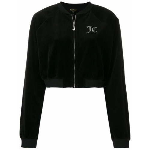 Imagen principal de producto de Juicy Couture customisable cropped jacket - Negro - Juicy Couture