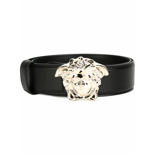 Imagen principal de producto de Versace cinturón con Medusa - Negro - Versace