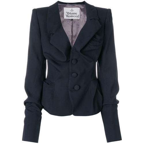 Imagen principal de producto de Vivienne Westwood chaqueta ajustada - Azul - Vivienne Westwood