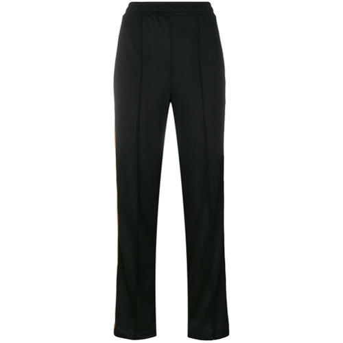 Imagen principal de producto de Ganni pantalones con franja lateral - Negro - Ganni