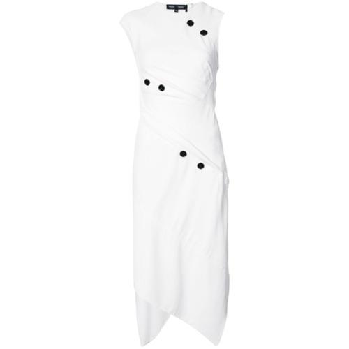 Imagen principal de producto de Proenza Schouler vestido Spiral con botones - Blanco - Proenza Schouler