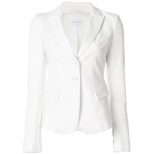 Imagen principal de producto de Patrizia Pepe blazer ajustado - Blanco - Patrizia Pepe
