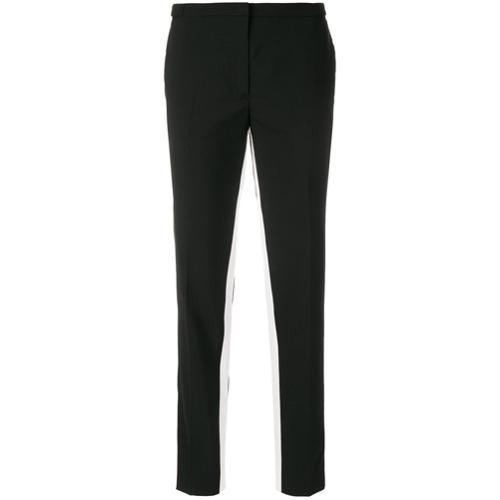 Imagen principal de producto de Prada pantalones entallados con raya en contraste - Negro - Prada