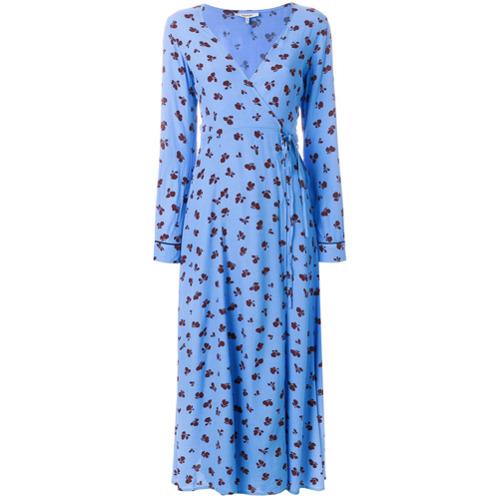 Imagen principal de producto de Ganni vestido Marina - Azul - Ganni
