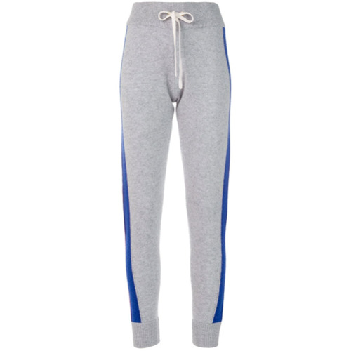 Imagen principal de producto de Juicy Couture pantalones de chándal a rayas - Gris - Juicy Couture