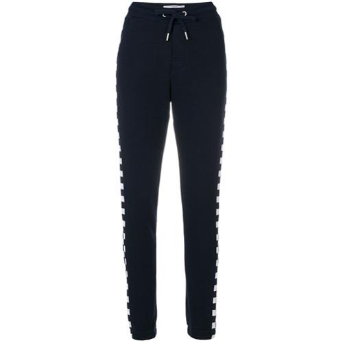 Imagen principal de producto de Zoe Karssen pantalones de chándal con cuadros - Azul - Zoe Karssen