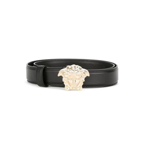 Imagen principal de producto de Versace cinturón con hebilla Medusa - Negro - Versace