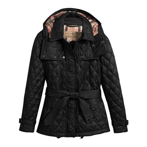 Imagen principal de producto de Burberry chaqueta acolchada - Negro - Burberry