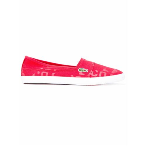 Imagen principal de producto de Lacoste zapatillas slip-on - Rojo - Lacoste