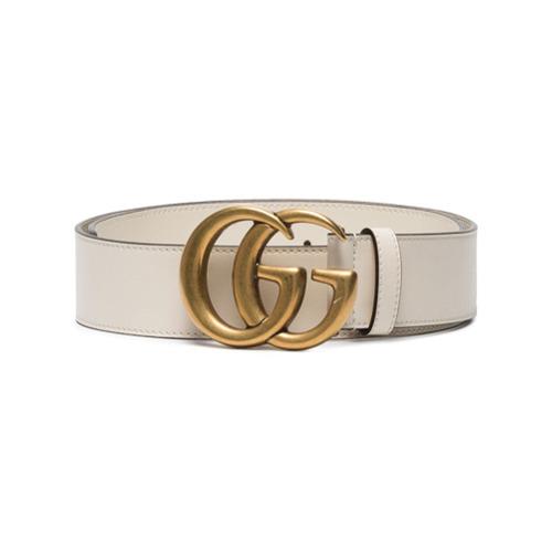Imagen principal de producto de Gucci cinturón con hebilla Double G - Blanco - Gucci