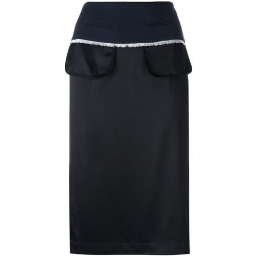 Imagen principal de producto de DKNY falda tubo del revés - Negro - DKNY