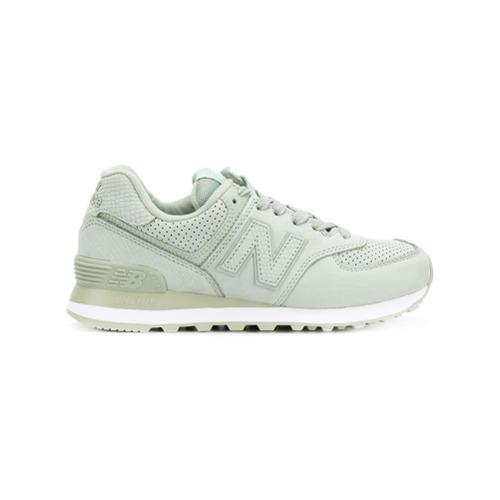 Imagen principal de producto de New Balance zapatillas 574 - Verde - New Balance