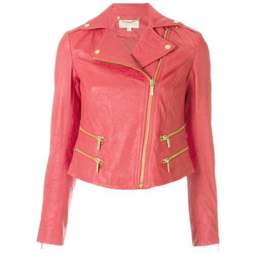 Imagen principal de producto de Michael Michael Kors chaqueta biker - Rojo - MICHAEL Michael Kors