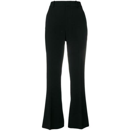 Imagen principal de producto de Gucci pantalones capri acampanados - Negro - Gucci