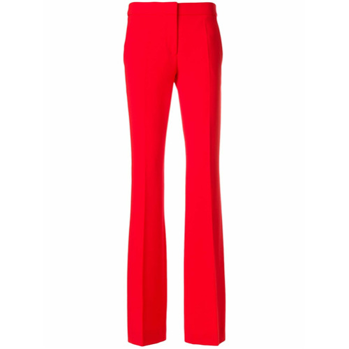 Imagen principal de producto de Moschino pantalones acampanados - Rojo - Moschino